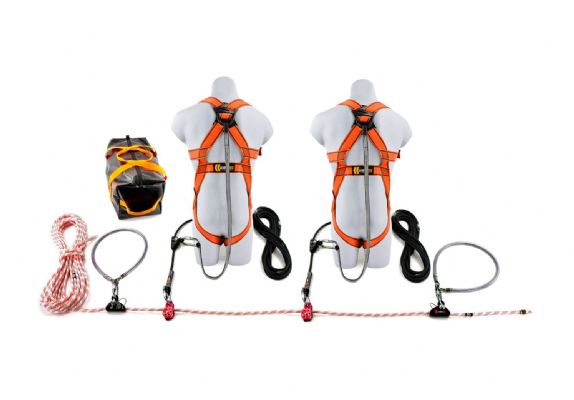 20m Rope Restraint Lifeline Kit (2 Person)